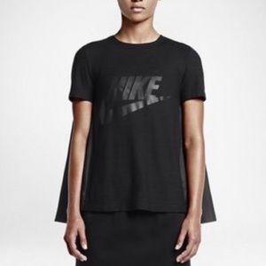 $115‼️NikeLab x Sacai cape black shirt size XL